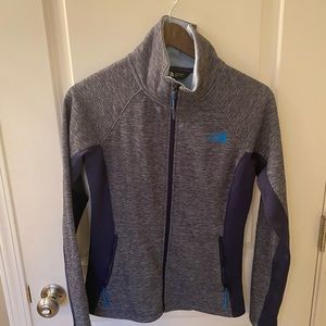 The North Face fitted fleece jacket